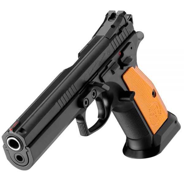 39858 BRÜNNER Pistole Mod. CZ75 Tactical Sport Orange Kal. 9 mm Para, 6""