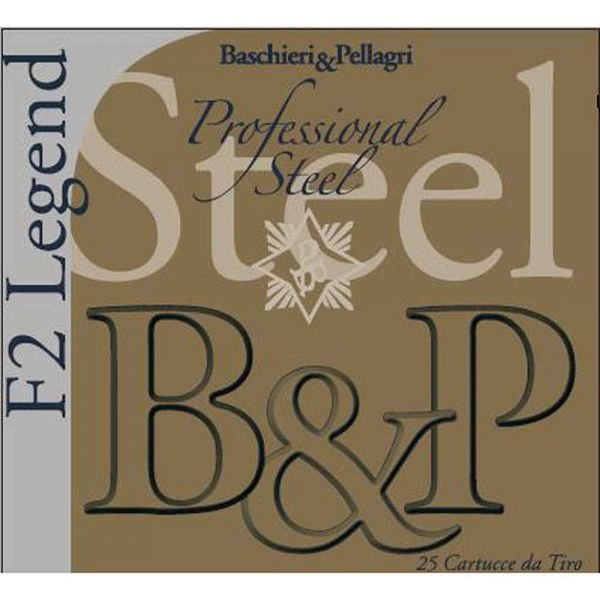 14140 Baschieri & Pellagri Patronen F2 Legend Prof. Steel 12/70 24 g 2,5 mm