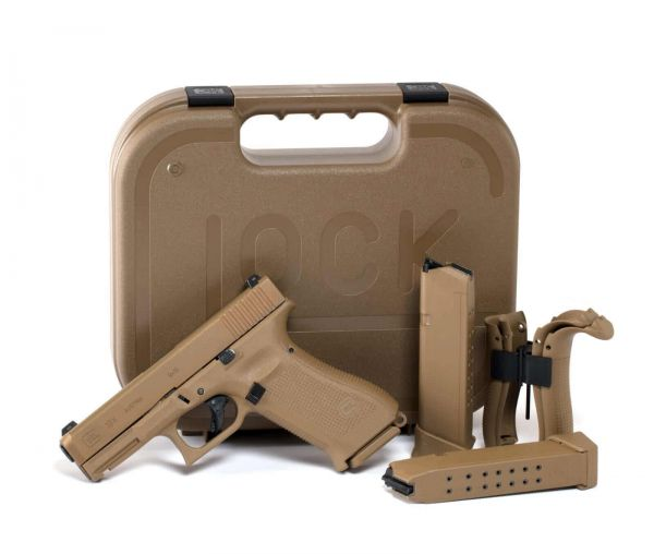 40018 GLOCK Pistole 19x Coyote 9mm Luger