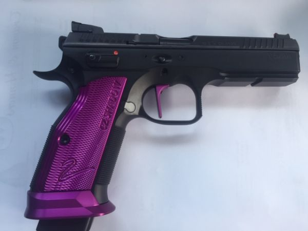 39888 BRÜNNER Pistole CZ75 Shadow II OR, 9 mm Luger purple